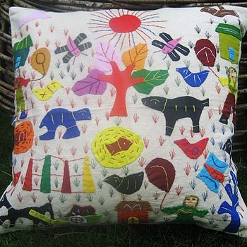 Folk cushion