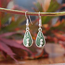 Lily Of The Valley Silver Plated Earrings