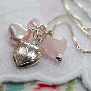 Sterling Silver Sweetheart Necklace - children's jewellery