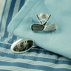 Golf Cufflinks - golf gifts