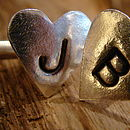 Personlised Love Letter Cufflinks