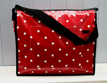 Baby Change Bag Oilcloth Issy
