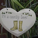 I'm a country lover
