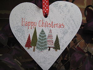 Christmas Heart - decorative accessories