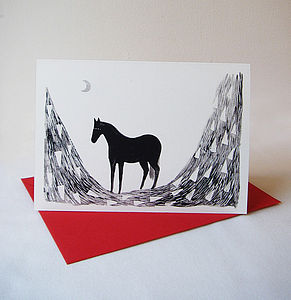 Black Beauty Card