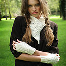 Alexis Fingerless Gloves Knitting Kit