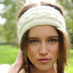 Diana Headband Knitting Kit - sewing & knitting
