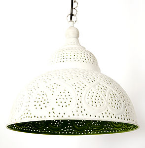 Lemonlu Painted Indian Lamp | Six Colours - lighting