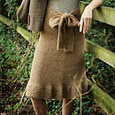 Gaia Skirt Knitting Kit