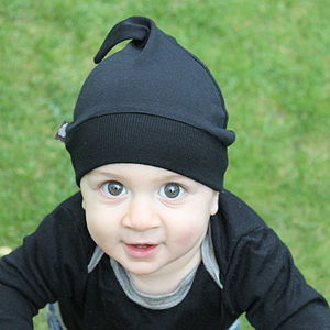 Merino Wool Baby Pixie Hat - babies' hats