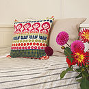 Dolly Mix Bright Cushion