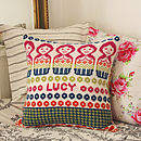 Dolly Mix Bright Lucy Cushion