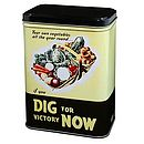 Dig for victory seed tin