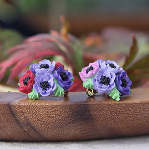 Anemone Brooch - pins & brooches