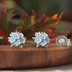 Forget Me Not Posy Earrings