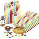 Set Of Eight Tasty Treat Bags