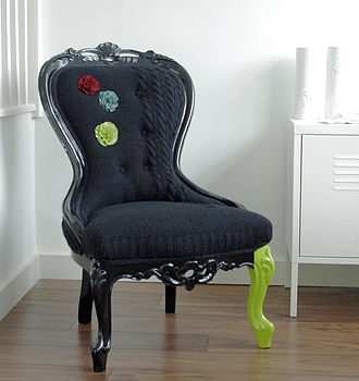 'Nora' Restored Vintage Nursing Chair