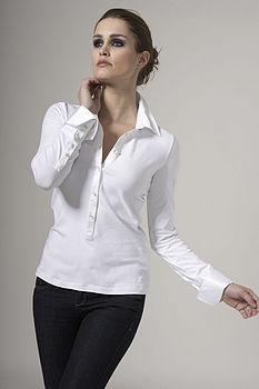 Jersey Double Cuff Shirt