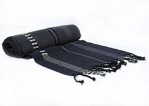 Fine Woollen Stripe Scarf