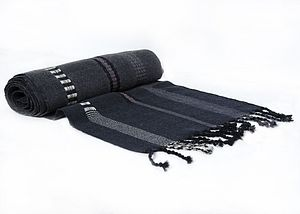 Fine Woollen Stripe Scarf - hats, scarves & gloves
