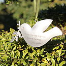 Peace Dove Decoration