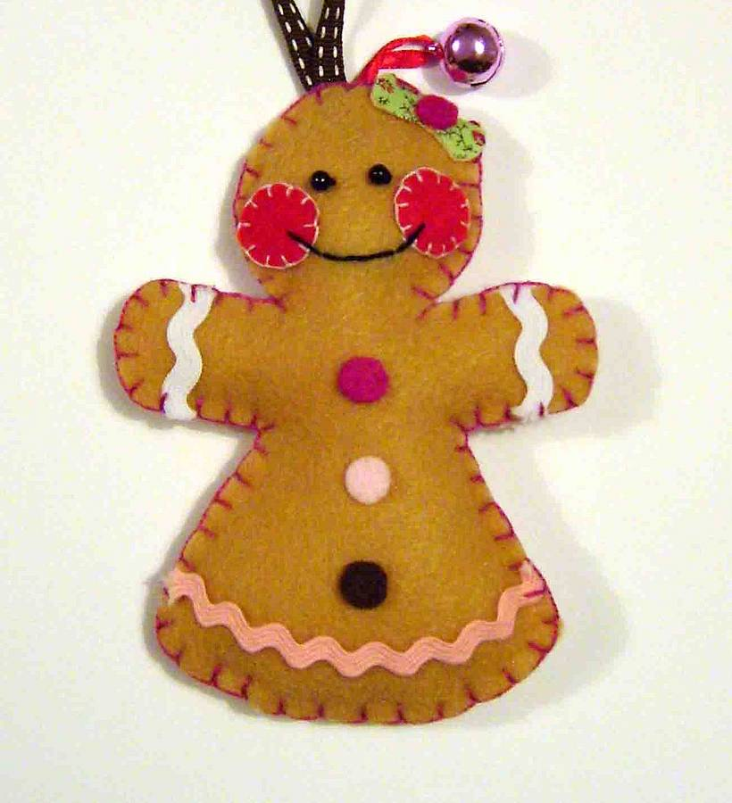 Go Back > Gallery For > Gingerbread Woman Template