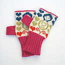 Mini Dolls Knitted Hand Warmers