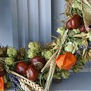 Autumn dried wreaths and bouquets 019