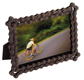 Bike Chain Photoframe