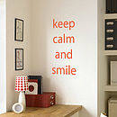 Wall quote decal 2