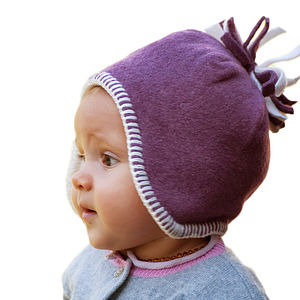 Fleece Baby Hat - children's accessories