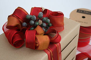 Wired Taffeta Ribbon Roll