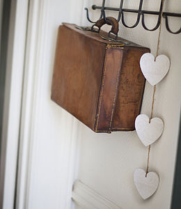 Three Hanging Hearts - decorative accessories