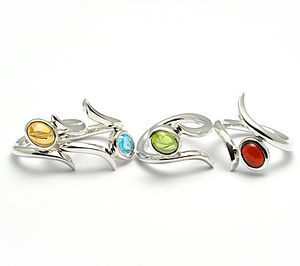 Sterling Silver Odyssey Ring - rings