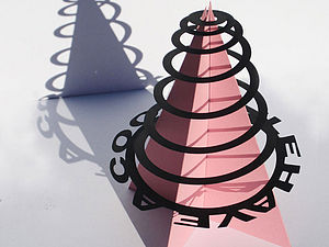Christmas Tree Helter Skelter - cards