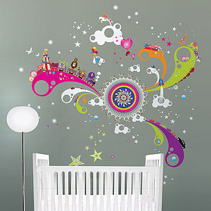 Fun Of The Fair Giant Wall Stickers - living & decorating