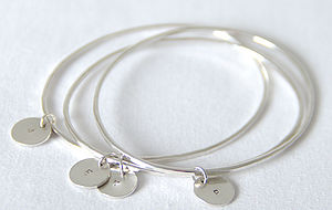 Handmade Loved Ones Bangle - jewellery for women