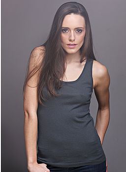 Cashmere Vest Top (slate grey)