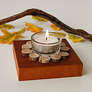 Driftwood ring candle