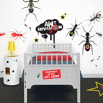 Soldier Ants Giant Wall Stickers