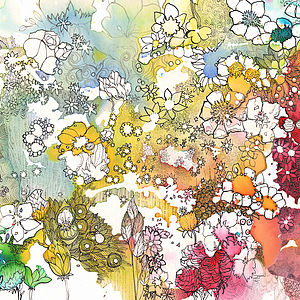 Flowers 52 - Art Print - best of contemporary art