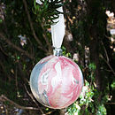 Pink Blossom Bauble