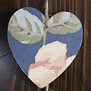 Navy And Rose Hearts