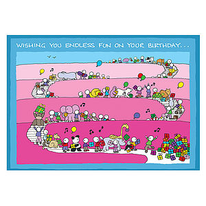 Endless Fun Birthday Card