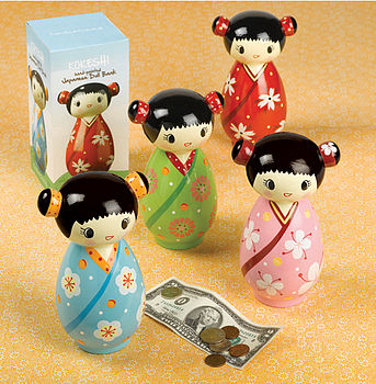 Japanese Doll Piggy bank