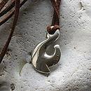 Maori Fish Hook Necklace