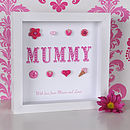 Personalised Mummy Mother's Day Artwork