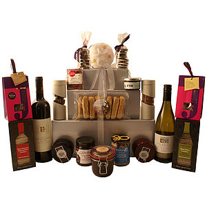 Gourmet Tower Hamper - food hampers