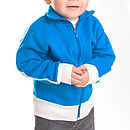 Blue Personalised Track Suit Top