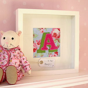 Personalised Initial Picture - personalised